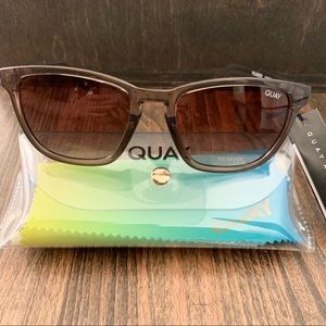QUAY AUSTRALIA Polarized Hardwire 54mm Sunglasses
